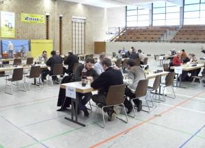 Württembergische Blitzschachmannschaftsmeisterschaft 2013 - Vor dem Start 2