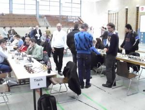Württembergische Blitzschachmannschaftsmeisterschaft 2013 - Vor dem Start