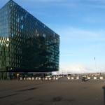 Harpa - das Spiellokal des Reykjavik Opens